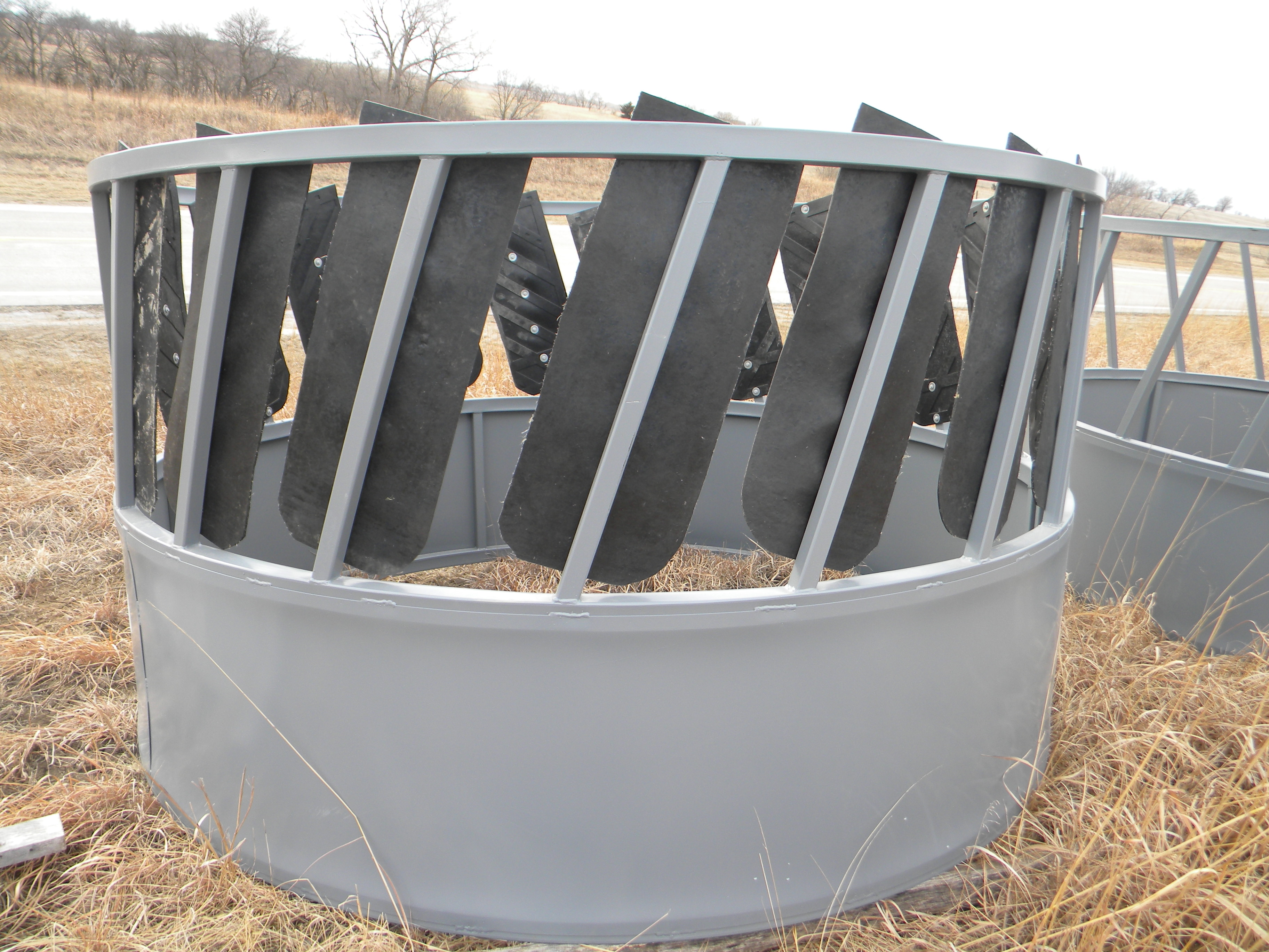 a round goats small farm milking feeders bale goat your feeder hay for breed choosing